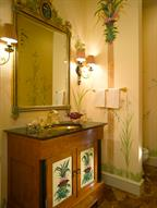 Capital City Club--Guest Powder Room
