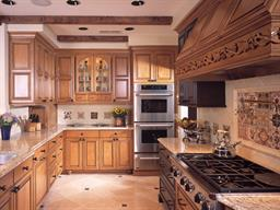 French Style Home--Kitchen